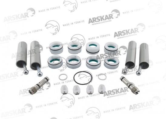 Repair kit full, gear lever actuator / RK.4098.100.0 / 628043AM, 628040AM, 0002604998, 0002605198